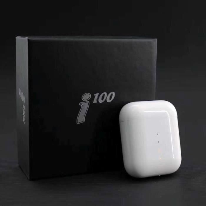 Ecouteurs Bluetooth i100 TWS