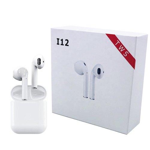 TWS écouteurs i12 tactile Bluetooth 5.0 Prise en charge du couplage automatique iOS / Android et du contrôle tactile
