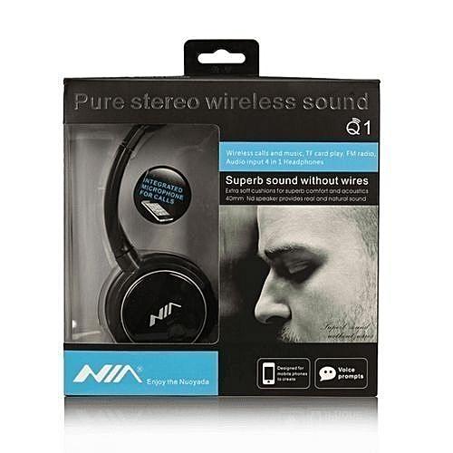 Nia Casque Bluetooth Q1 V4.2