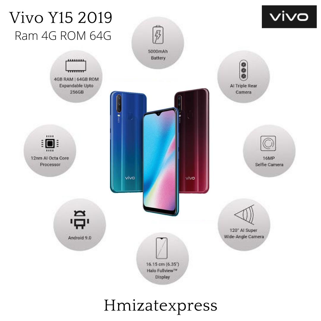 Vivo Y15 2019 4 Go de RAM et 64 Go de ROM