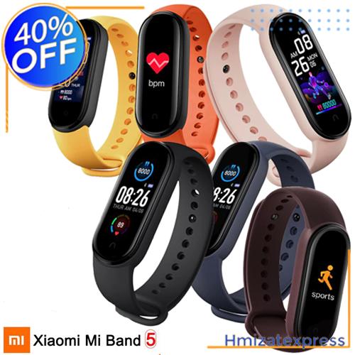 Xiaomi Mi Band 5 originale montre intelligente de Fitness AMOLED