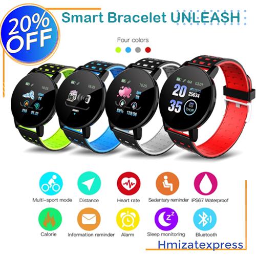 Smart Bracelet UNLEASH Montre intelligente hommes Android IOS