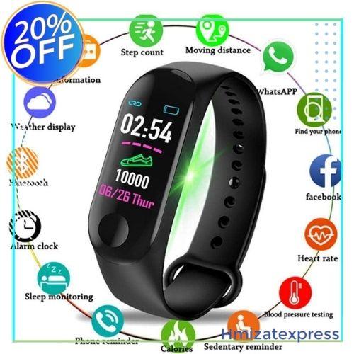 M4 montre intelligente hommes femmes Sport  android/ios