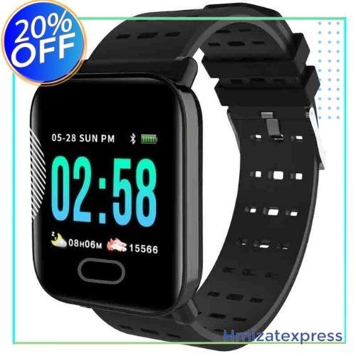A6 Smart Bracelet Newest Chip Blood Pressure Measure Sport Waterproof