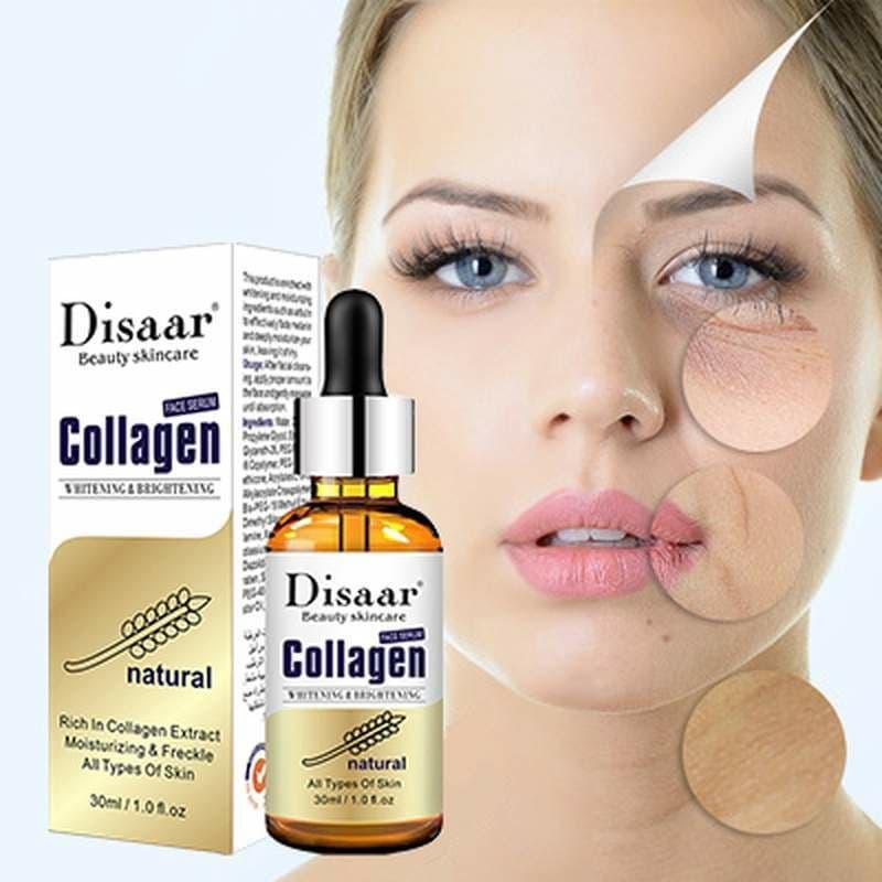 سيروم لمكافحة الشيخوخة و ترطيب و العناية بالبشره بخلاصة الكولاجين الطبيعي