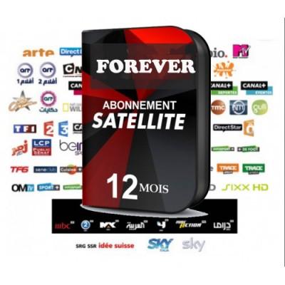 SERVEUR INTERNET & SDS (FOREVER), POUR TOUS LES MODÈLES 12 MOIS