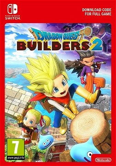Dragon Quest Builders 2 (Nintendo Switch) eShop Key EUROPE