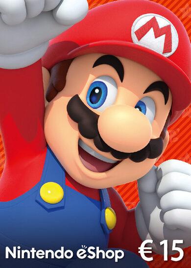 Nintendo eShop Card 15 EUR Key EUROPE