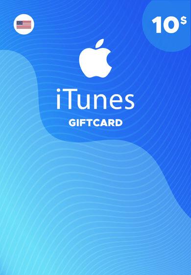 Apple iTunes Gift Card 10 USD iTunes Key NORTH AMERICA