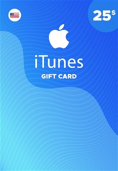 Apple iTunes Gift Card 25 USD iTunes Key NORTH AMERICA