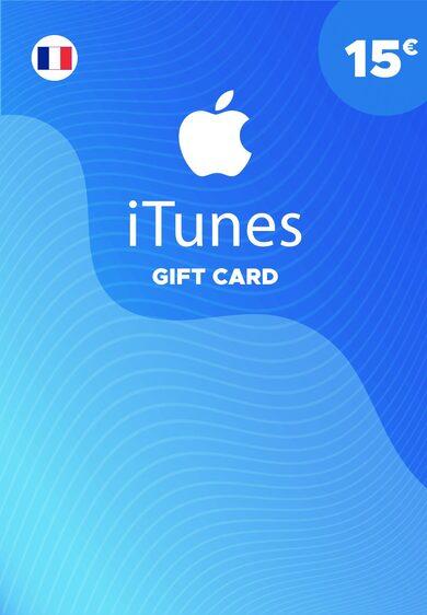 Apple iTunes Gift Card 15 EUR iTunes Key FRANCE