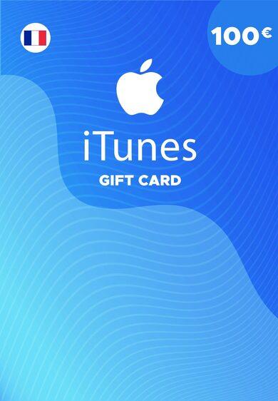 Apple iTunes Gift Card 100 EUR iTunes Key FRANCE