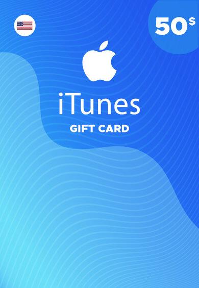Apple iTunes Gift Card 50 USD iTunes Key NORTH AMERICA