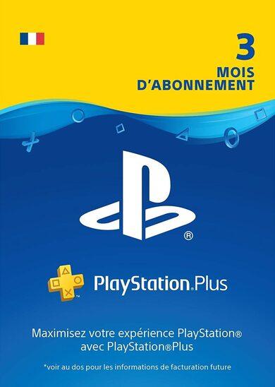 PlayStation Plus Card 90 Days (FR) PSN Key FRANCE