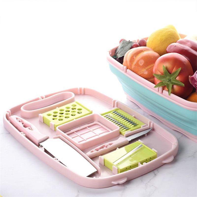 طاولة تقطيع و تقطير للخضر و الفواكه