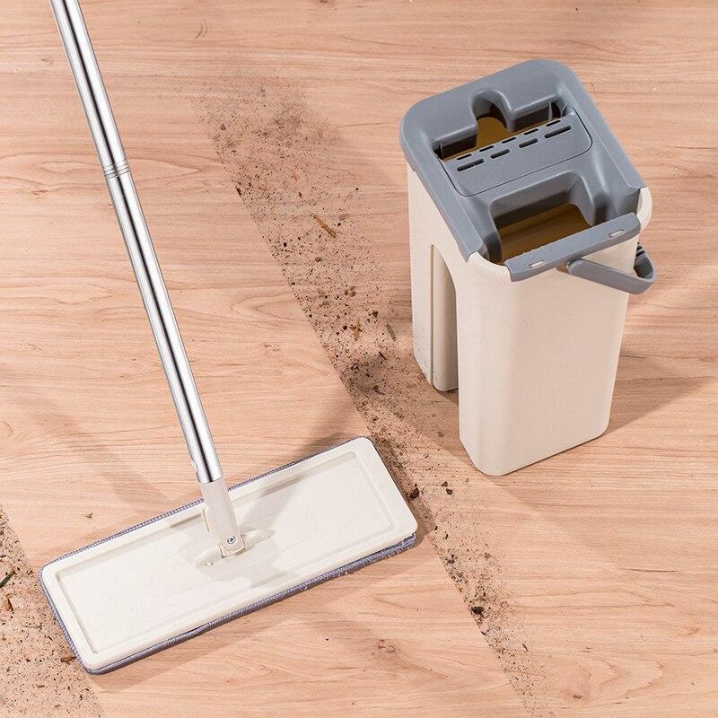 ممسحة °360 مع دلو الماء لتنظيف مختلف الأرضيات