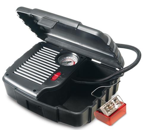 جهاز ضغط الهواء المحمول للسيارات والدراجات 2107