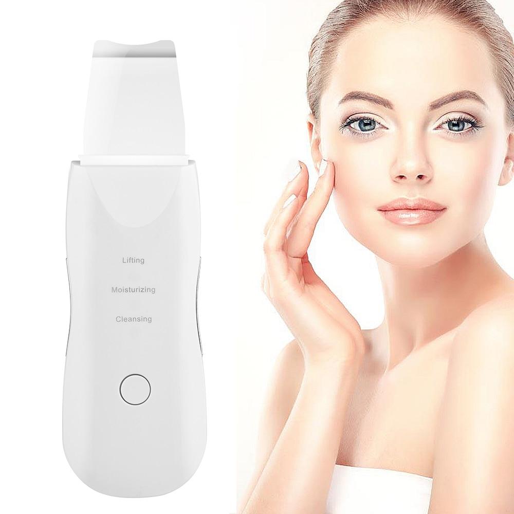 جهاز تنظيف و تقشير الجلد بالموجات فوق الصوتية