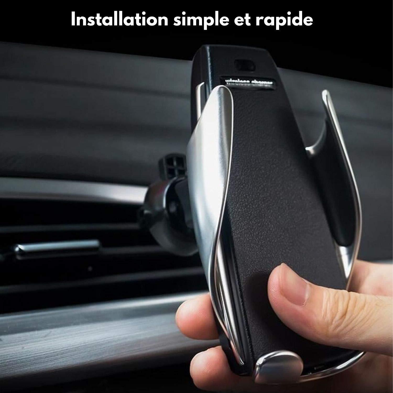 Fixmania Support de téléphone, Chargeur de Voiture Automatique sans Fil