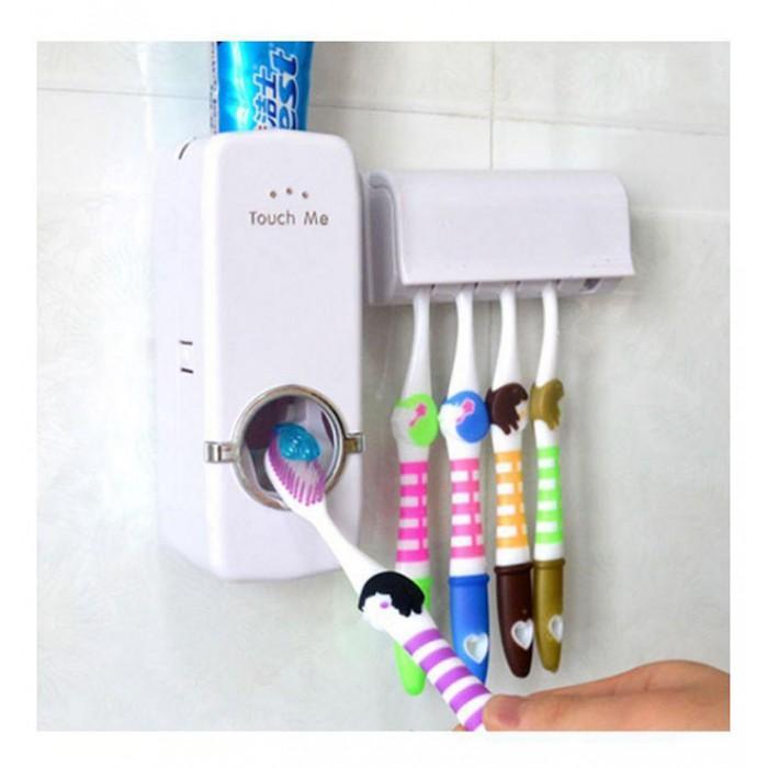 طقم تنظيم استعمال فرش و معجون الاسنان
