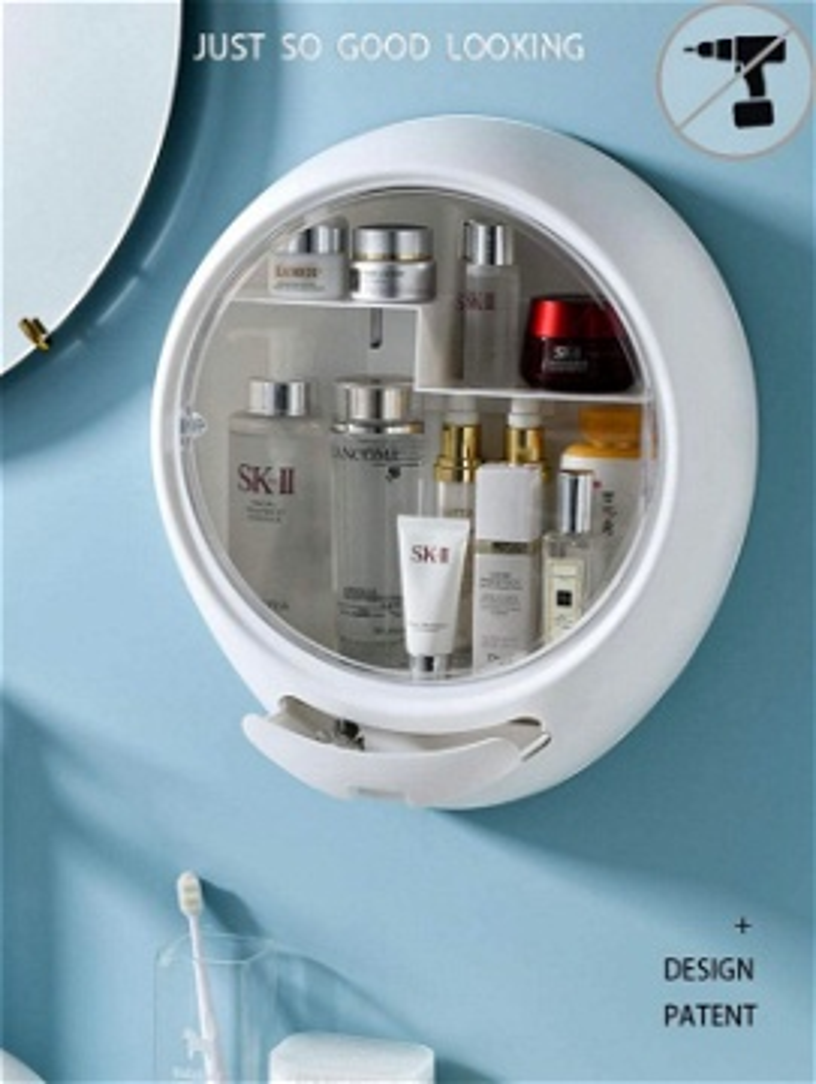 Makeup Organizer Drilling Box