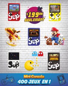 Mini console portable 400 Jeux en 1
