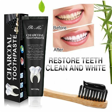 Charcoal Toothpaste 3 pieces