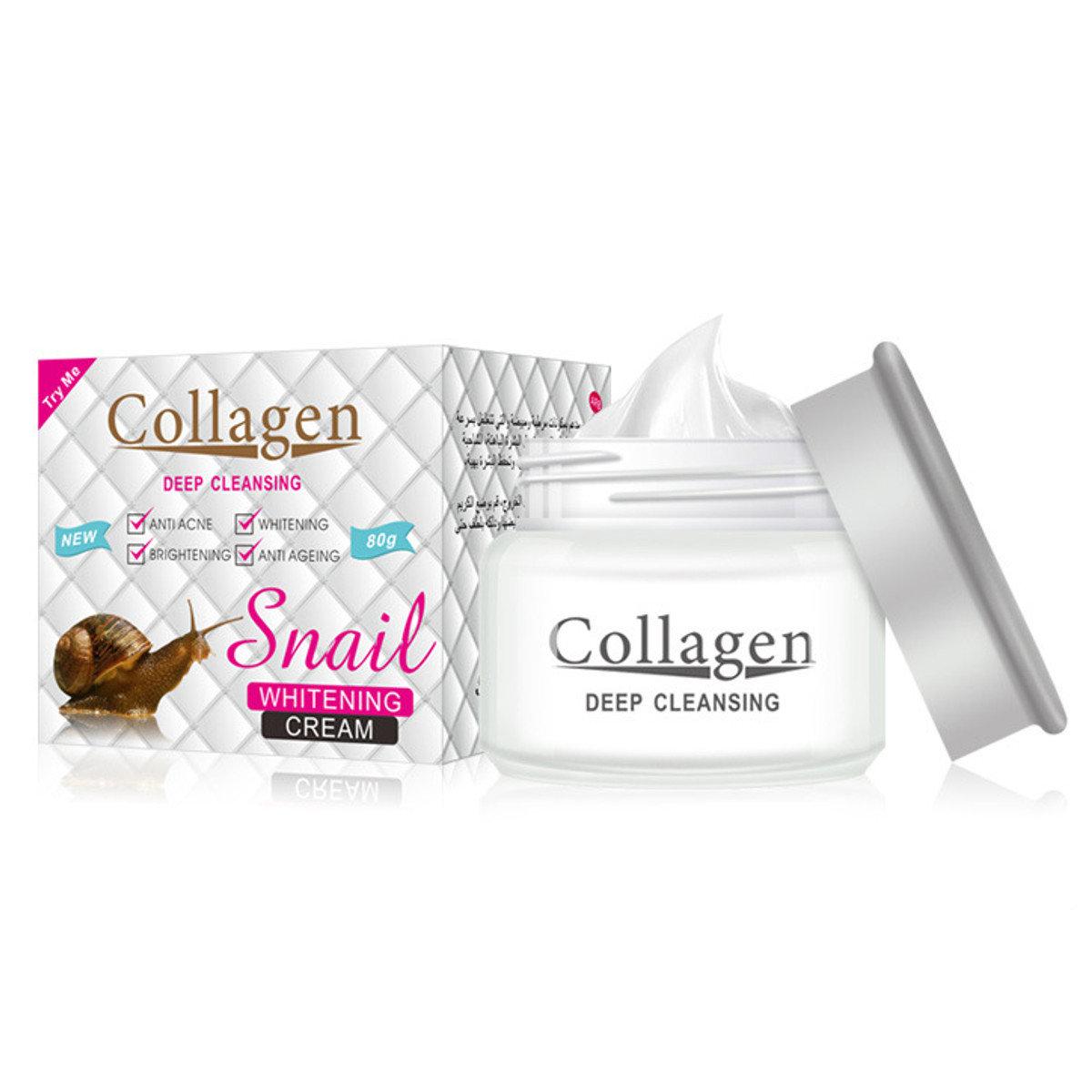 الكولاجين كريم مكافحة الشيخوخة كريم الترطيب اشراق ثبات الوجه كريم العناية بالبشرة