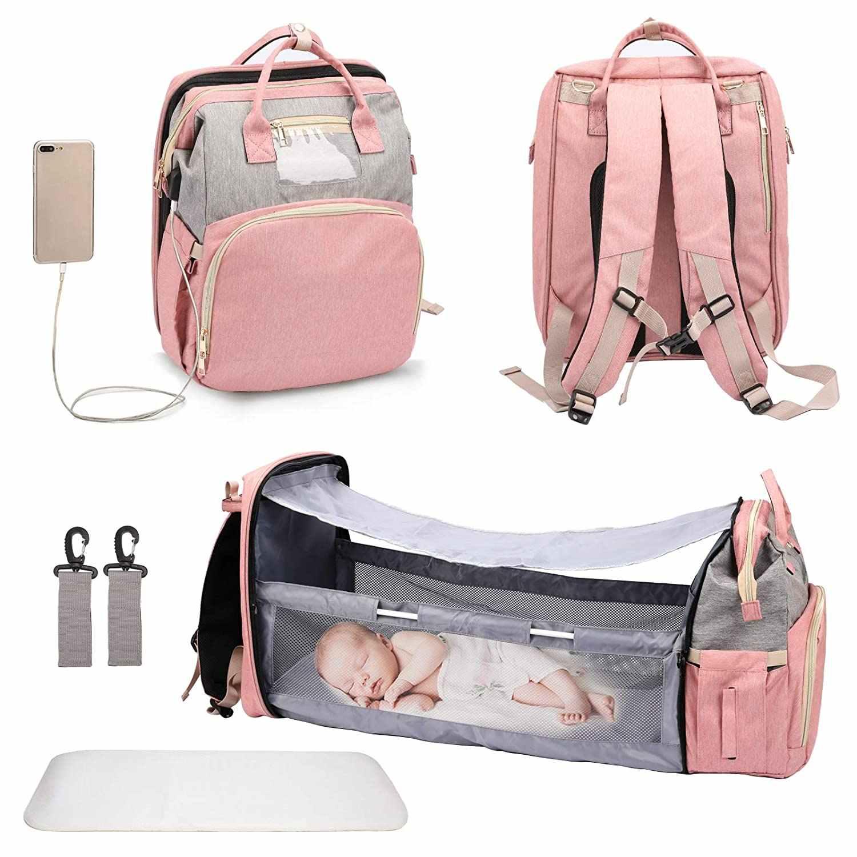 Sac-Lit Portable pour bébé 3-en-1