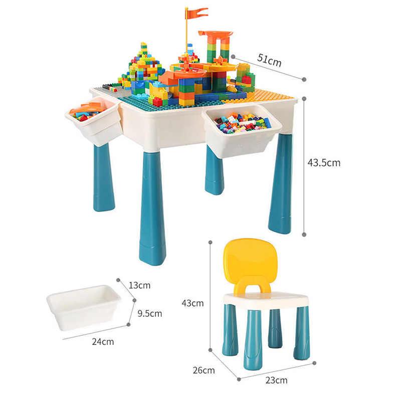 LEGO Table de Blocs de Construction 3 en 1 avec