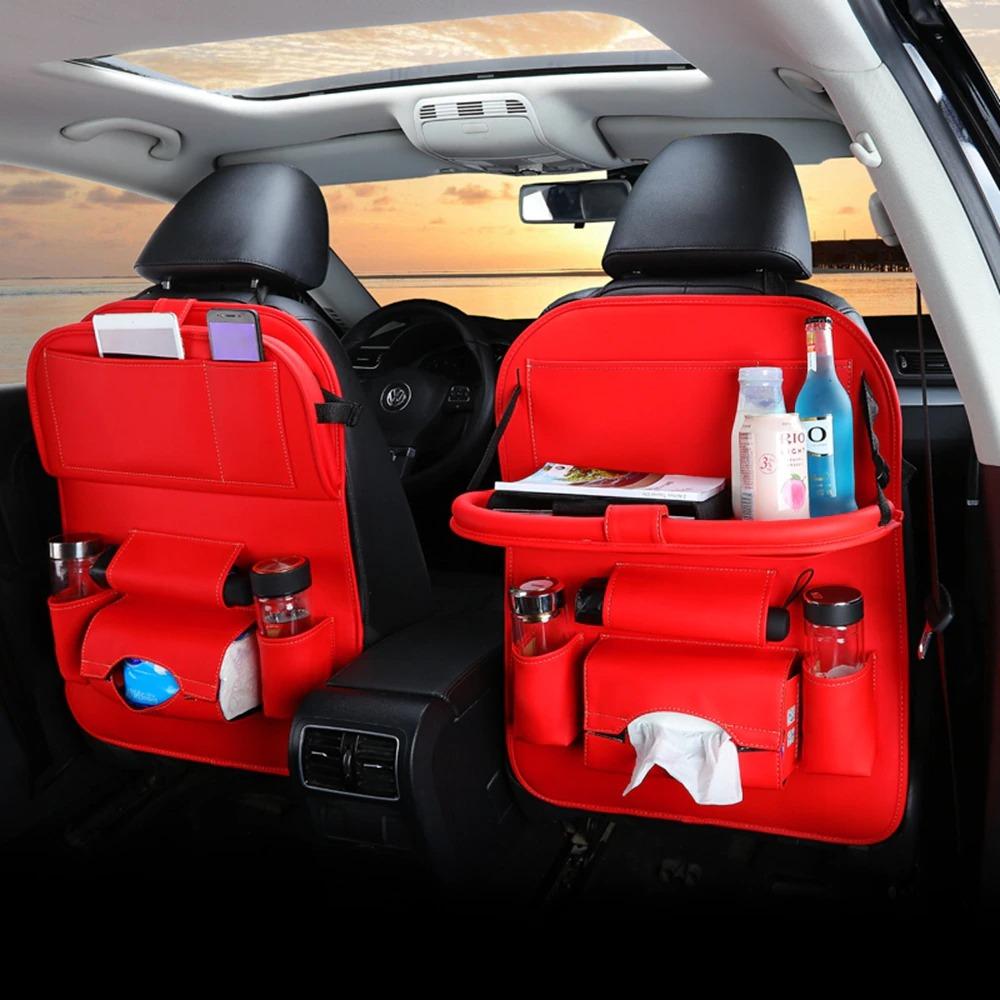 منظم في المقعد الخلفي للسيارة متعدد الوظائف