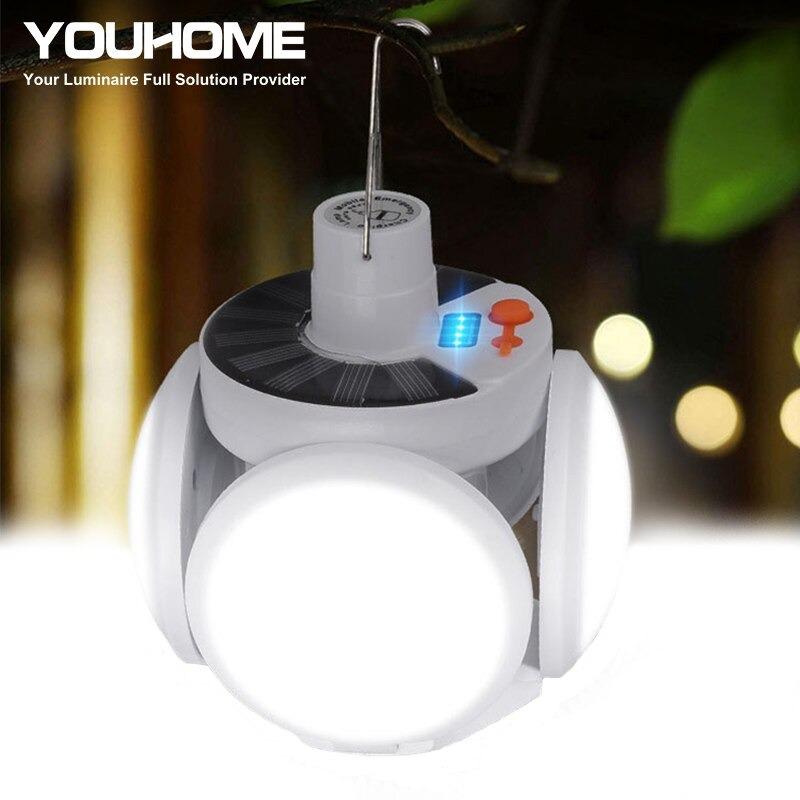 مصباح تخييم يعمل بالطاقة الشمسية