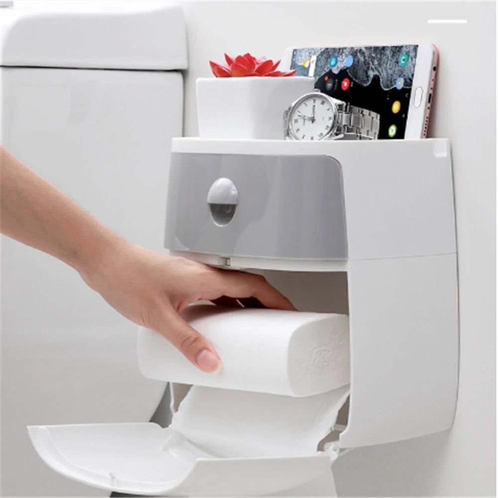 صندوق مناديل المرحاض مقاوم للماء
