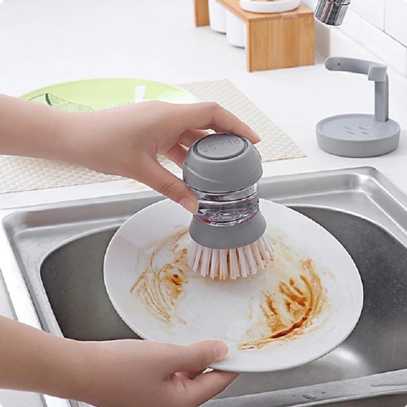 فرشاة لغسل الاواني