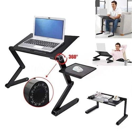 طاولة كمبيوتر محمول مع حامل تبريد - Omeidi Laptop Table T6