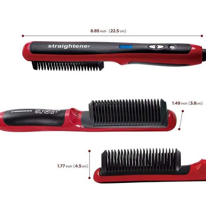 مشطة الشعر الكهربائية الرقيقة Hair straightener