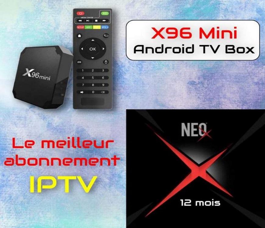X96 MINI + NEO X H265 IPTV