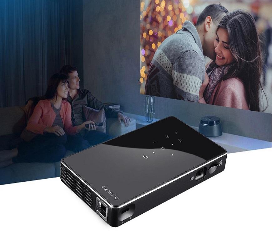 Mini Projecteur Android + NEO X H265 IPTV