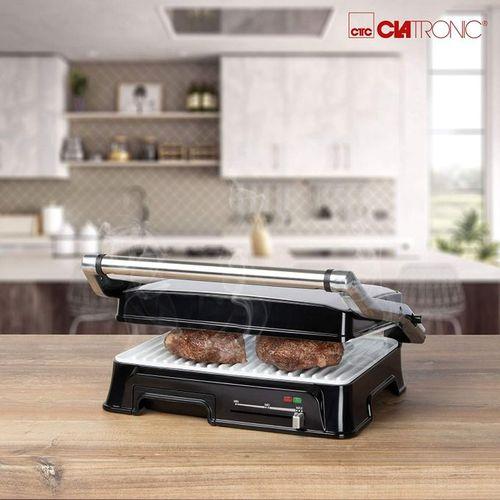 Clatronic  Presse panini céramique sandwich maker, grill antiadhésive 2000W