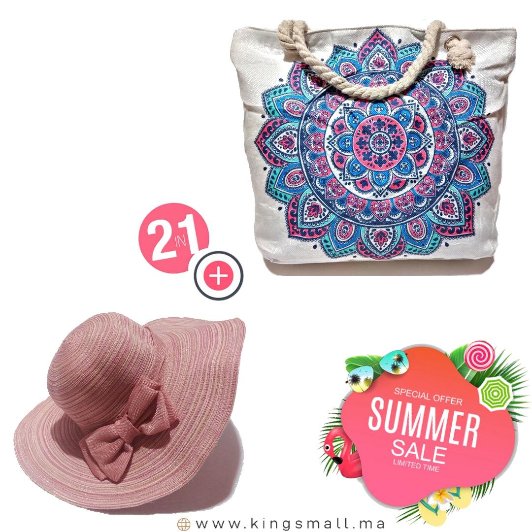 👜Un sacs élégant avec 👒Un Chapeaux assortie