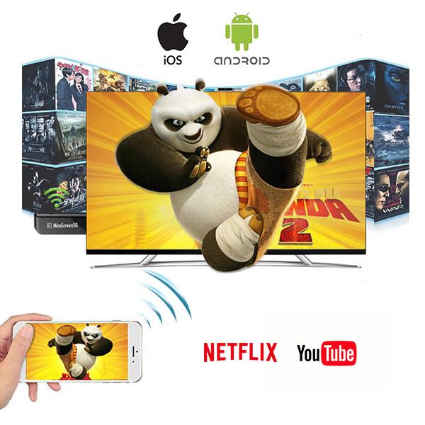 Chromcast TV Streaming WIFI 1080P  -جهاز لعرض شاشة الهاتف على التلفاز