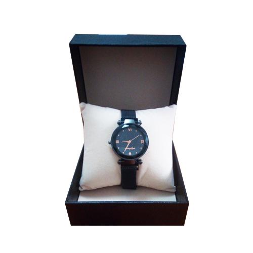 ساعة يد نسائية انيقة بسوار مغناطيسي