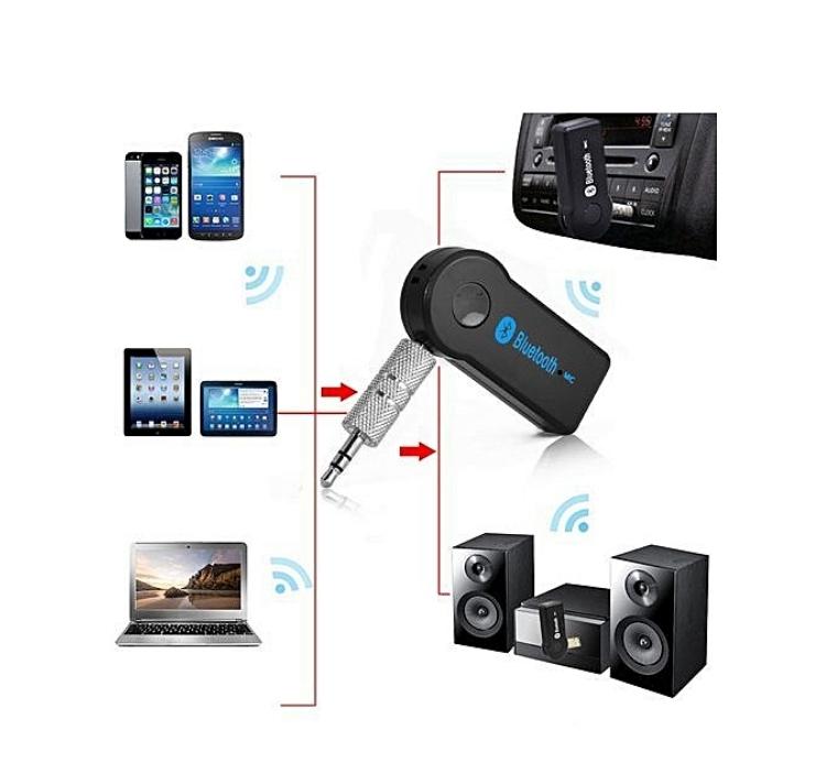 Voiture Sans Fil bluetooth Adaptateur Audio 3.5MM Audio Stéréo Musique