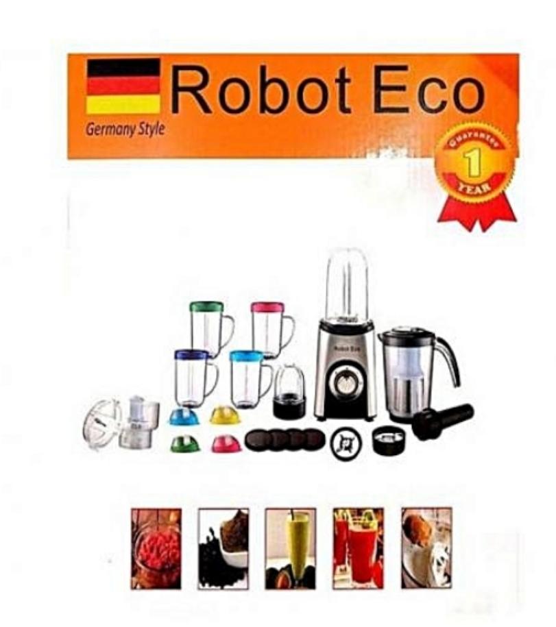 Robot Multifonctions de cuisine Robot Eco 33pcs