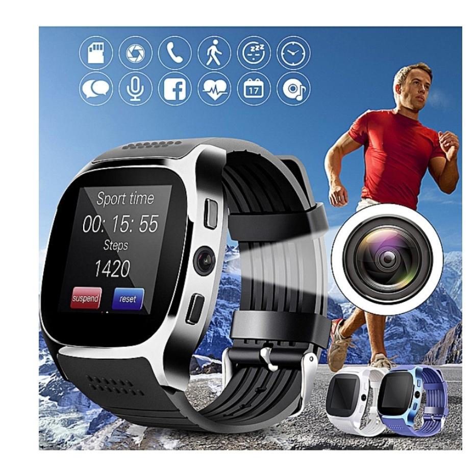 Smartwatch T8 carte sim