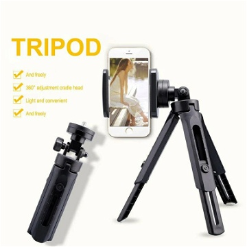 Trépied et Tripod Support Flexible 2in1 - Pour Samsung / Galaxy / iPhone / HTC / Huawei / Oppo