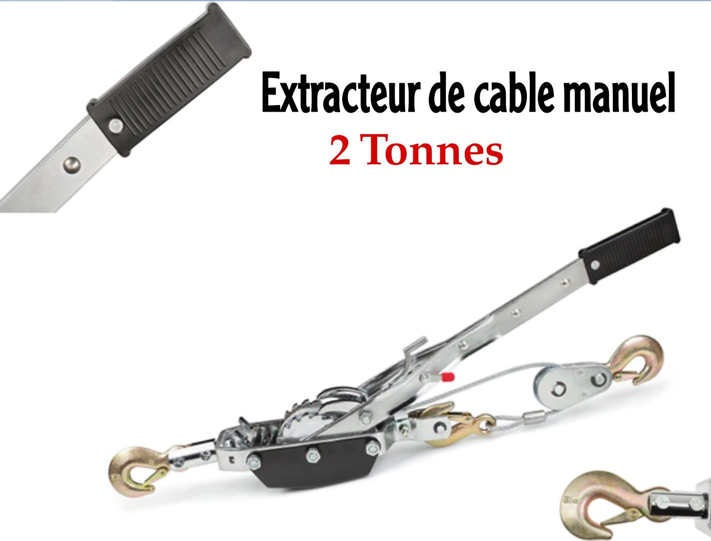 Extracteur de cable manuel
