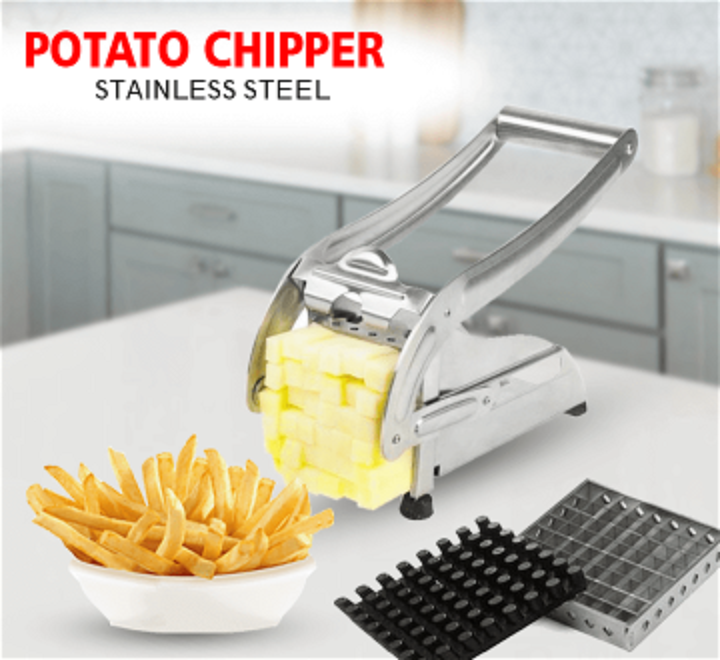 ماكينة تقطيع البطاطس الغير قابلة للصدأ