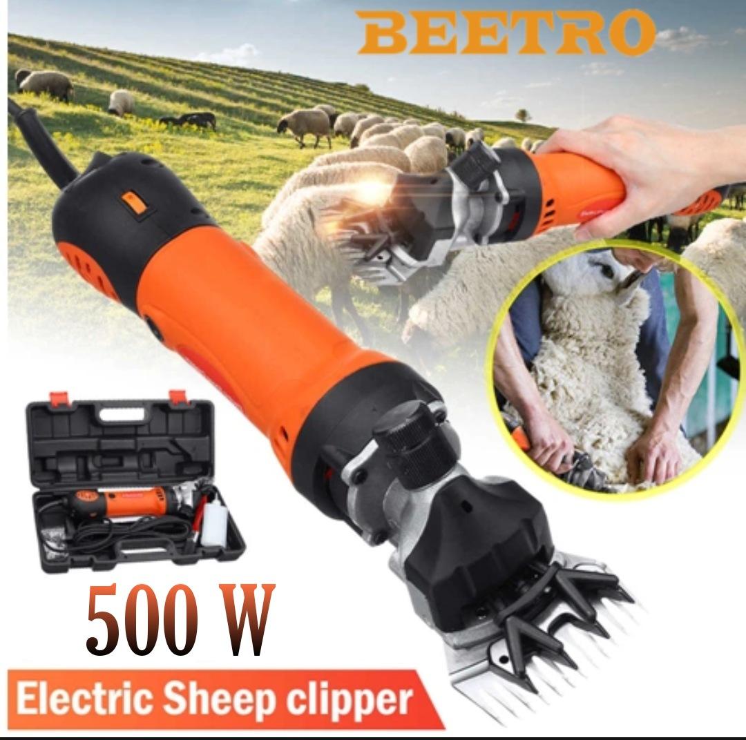 ماكينة كهربائية لقص صوف الأغنام و الماعز