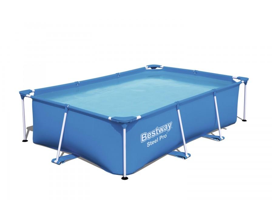 Piscine Bestway rectangulaire Steel Pro™ 259 x 170 x 61 cm